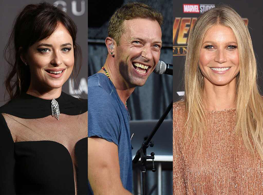 Dakota Johnson, Chris Martin, Gwyneth Paltrow
