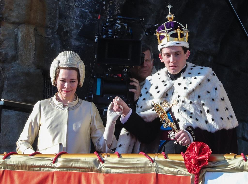 Olivia Colman, Josh O'Connor, The Crown