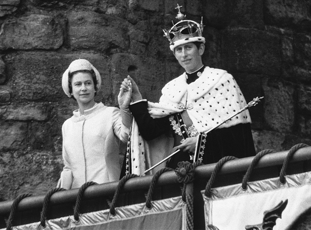 Queen Elizabeth, Prince Charles, Prince Charles Investiture