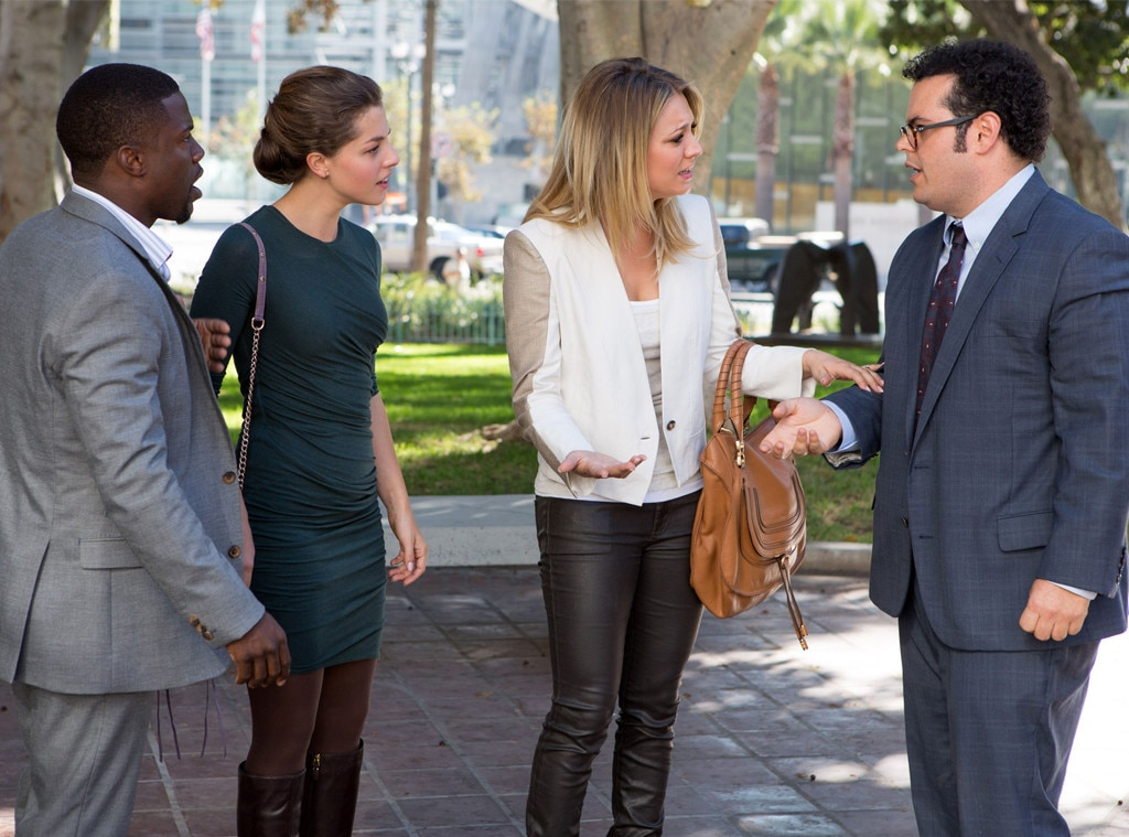 Kevin Hart, Olivia Thirlby, Kaley Cuoco, Josh Gad, The Wedding Ringer