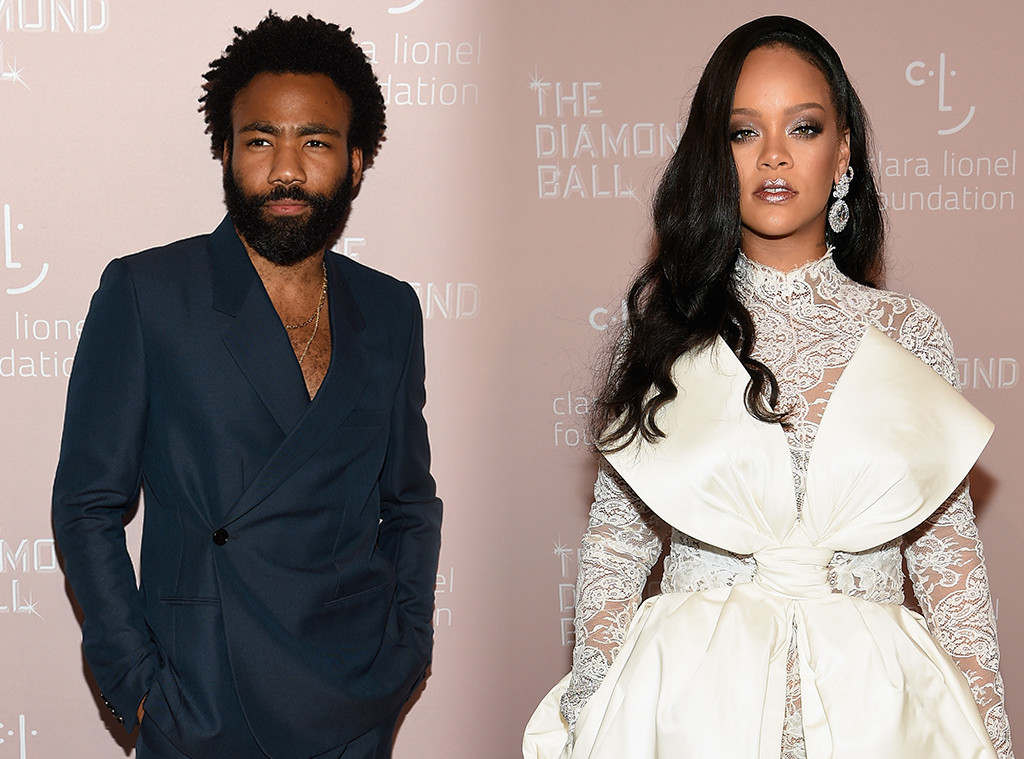 Donald Glover, Childish Gambino, Rihanna