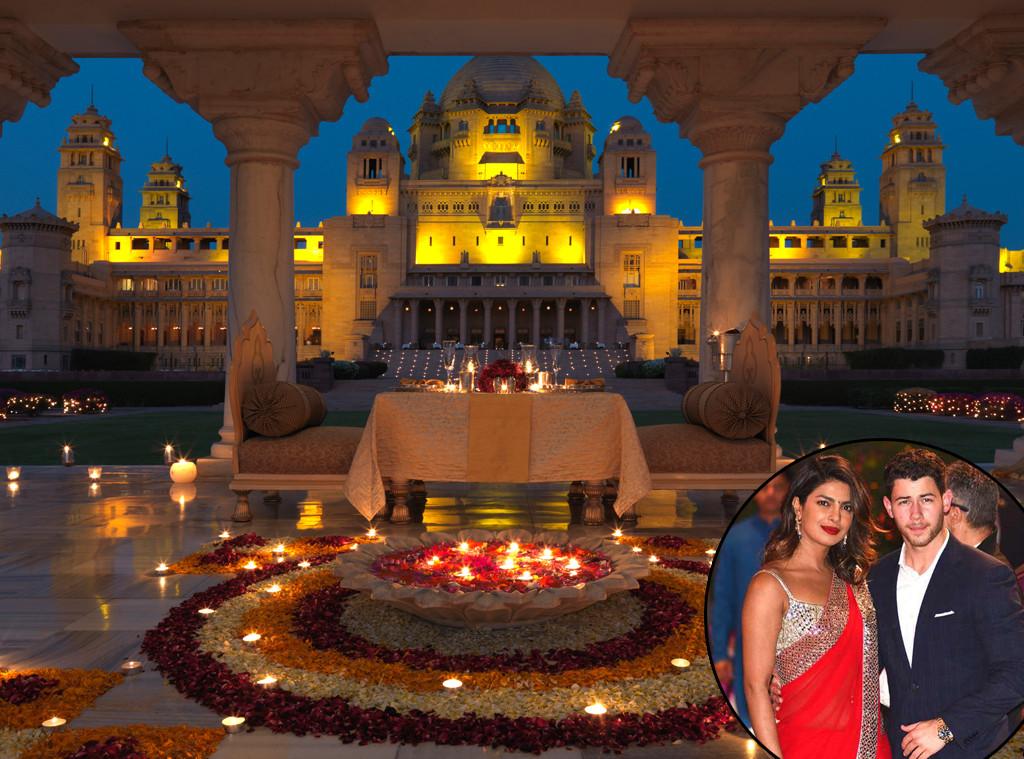 Priyanka Chopra, Nick Jonas, Wedding Venue, Taj's Umaid Bhawan Palace