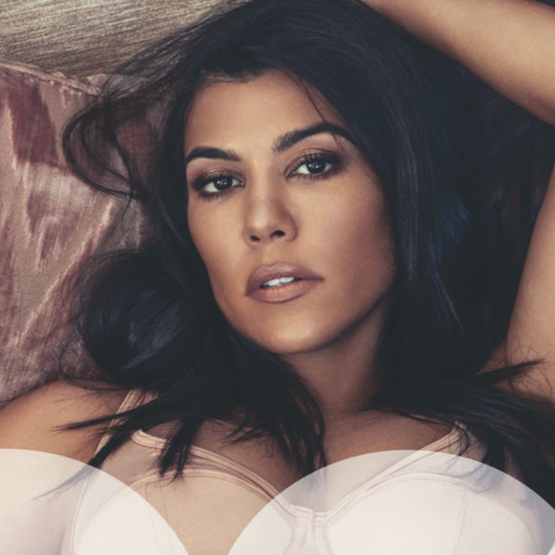Kourtney Kardashian Poses Completely Naked In GQ Mexico