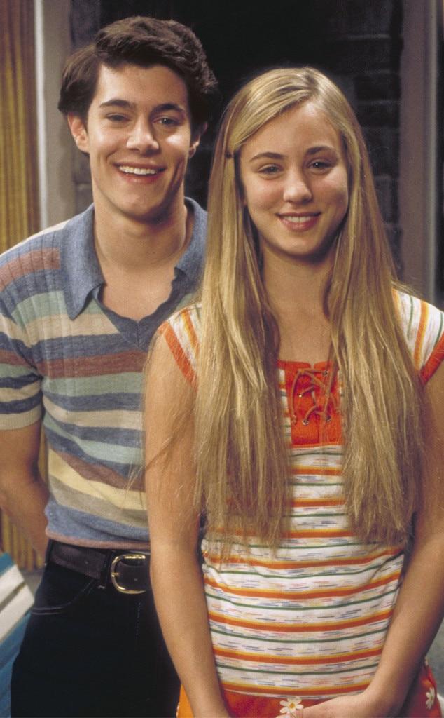 Kaley Cuoco, Adam Brody, Growing Up Brady