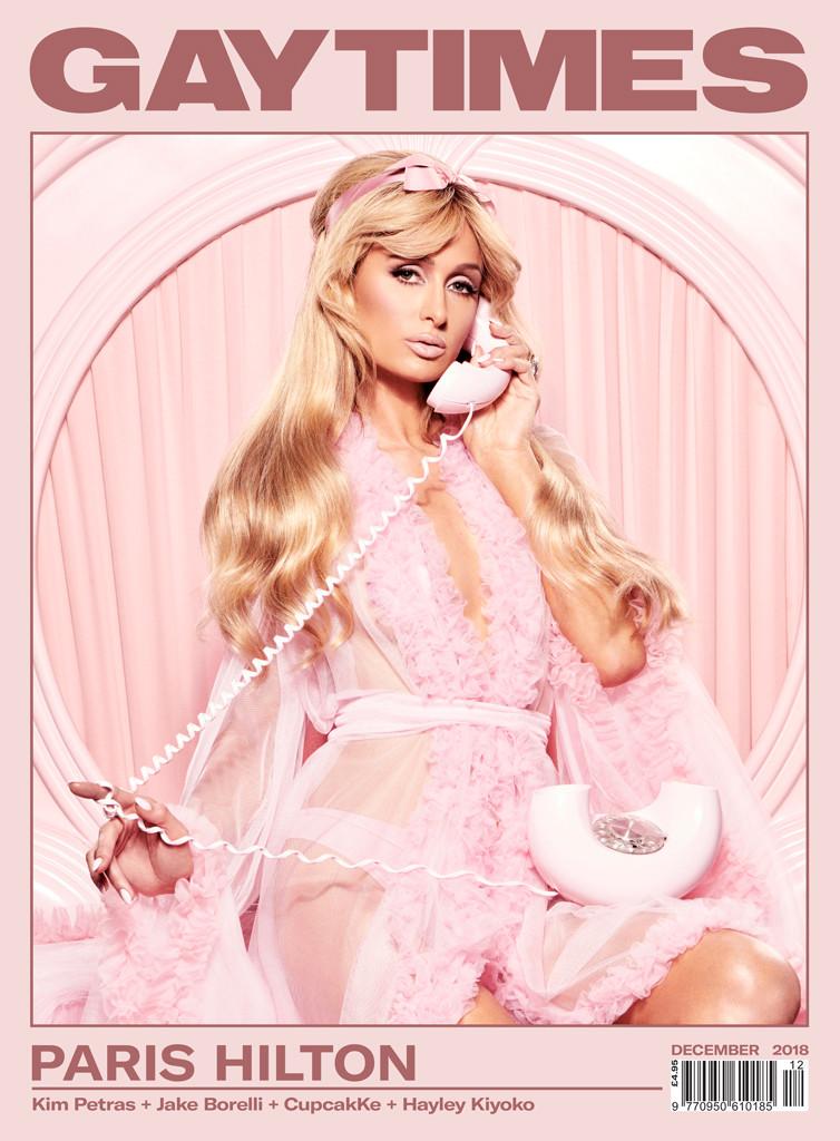 Paris Hilton, Gay Times