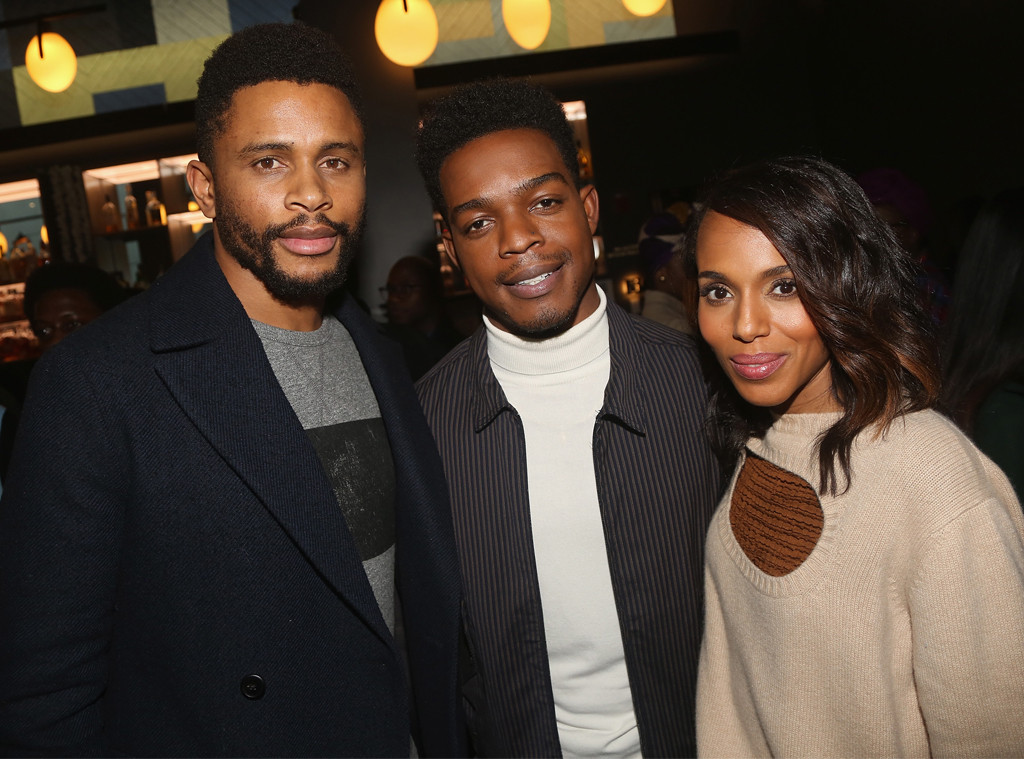 Nnamdi Asomugha, Stephan James, Kerry Washington