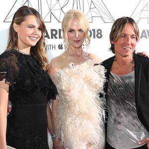 Nicole Kidman, Keith Urban, Lucia Hawley, ARIA Awards 2018