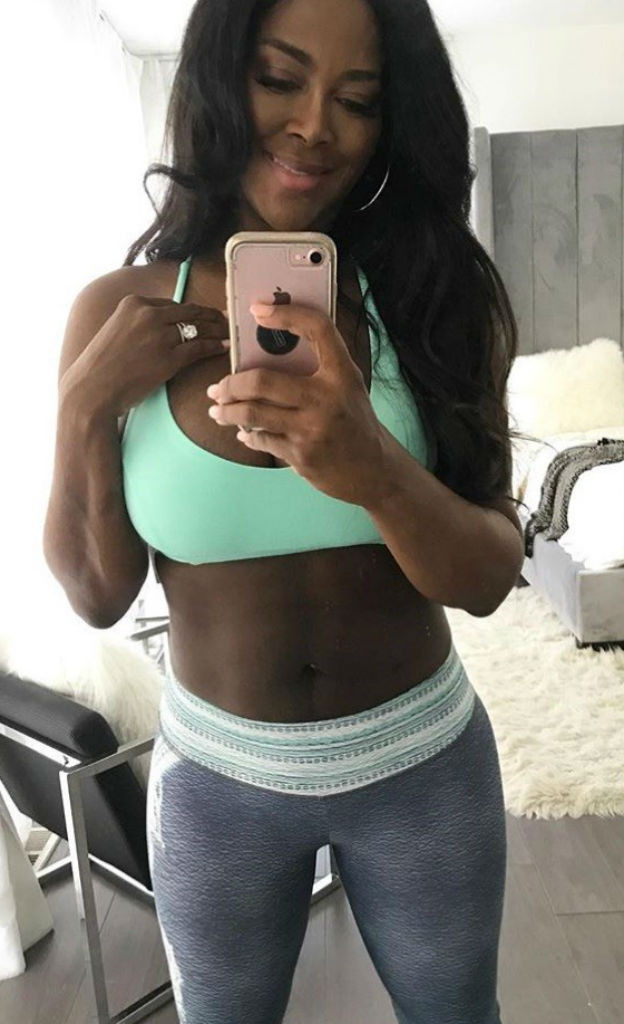 Kenya Moore, Instagram
