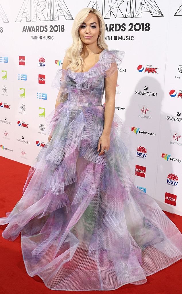 Rita Ora, ARIA Awards 2018