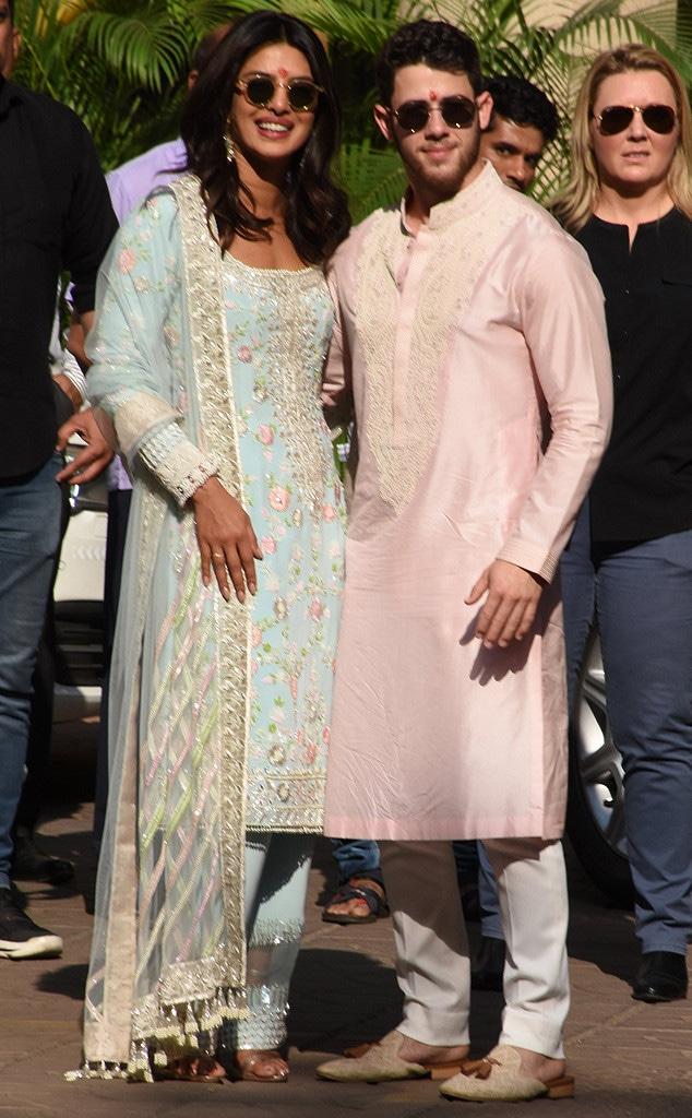 Priyanka Chopra, Nick Jonas, Puja Ceremony