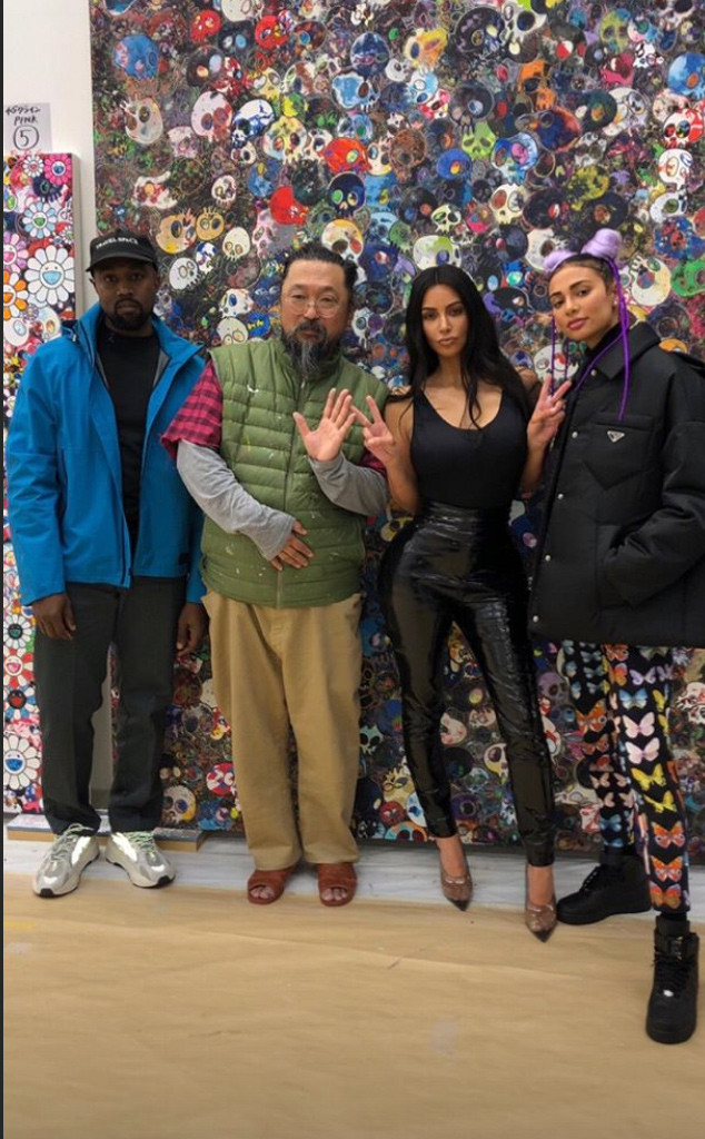 09ac985fbb2a1 Kim Kardashian and Kanye West Travel to Tokyo  See Photos From Their Trip