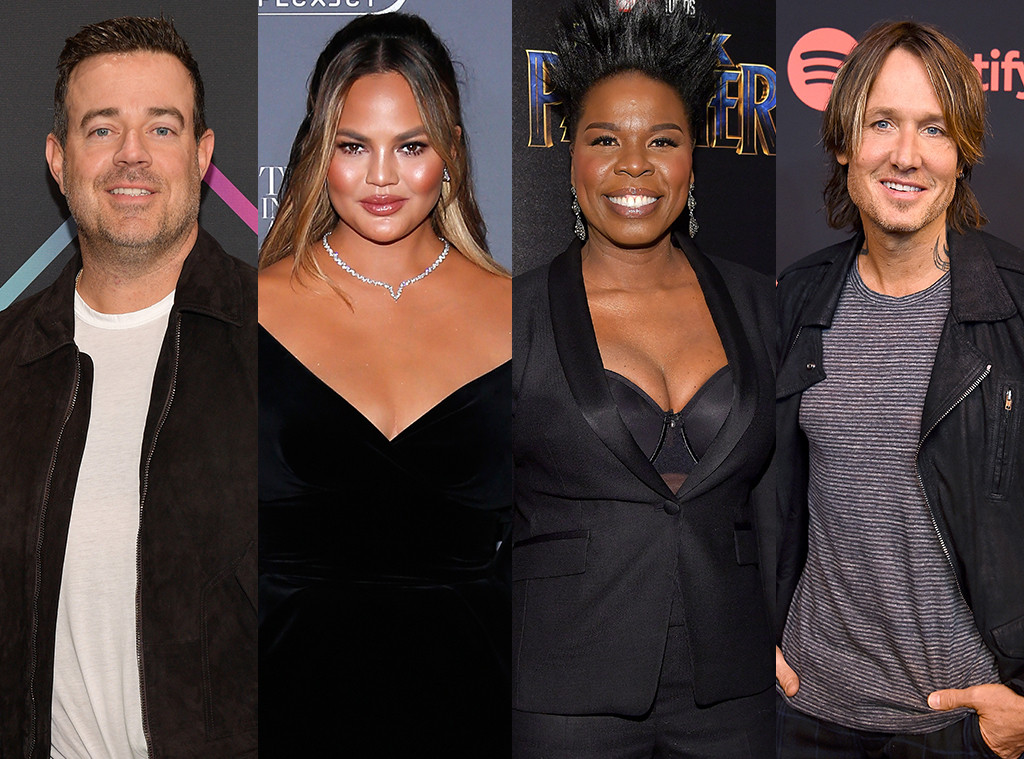 Carson Daly, Chrissy Teigen, Leslie Jones, Keith Urban