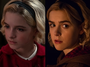 McKenna Grace, Kieran Shipka, The Chilling Adventures of Sabrina