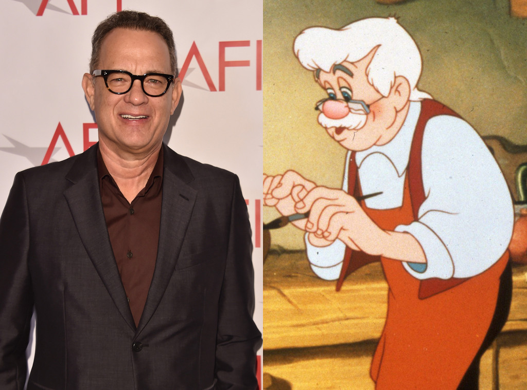 Tom Hanks, Geppetto, Pinnochio