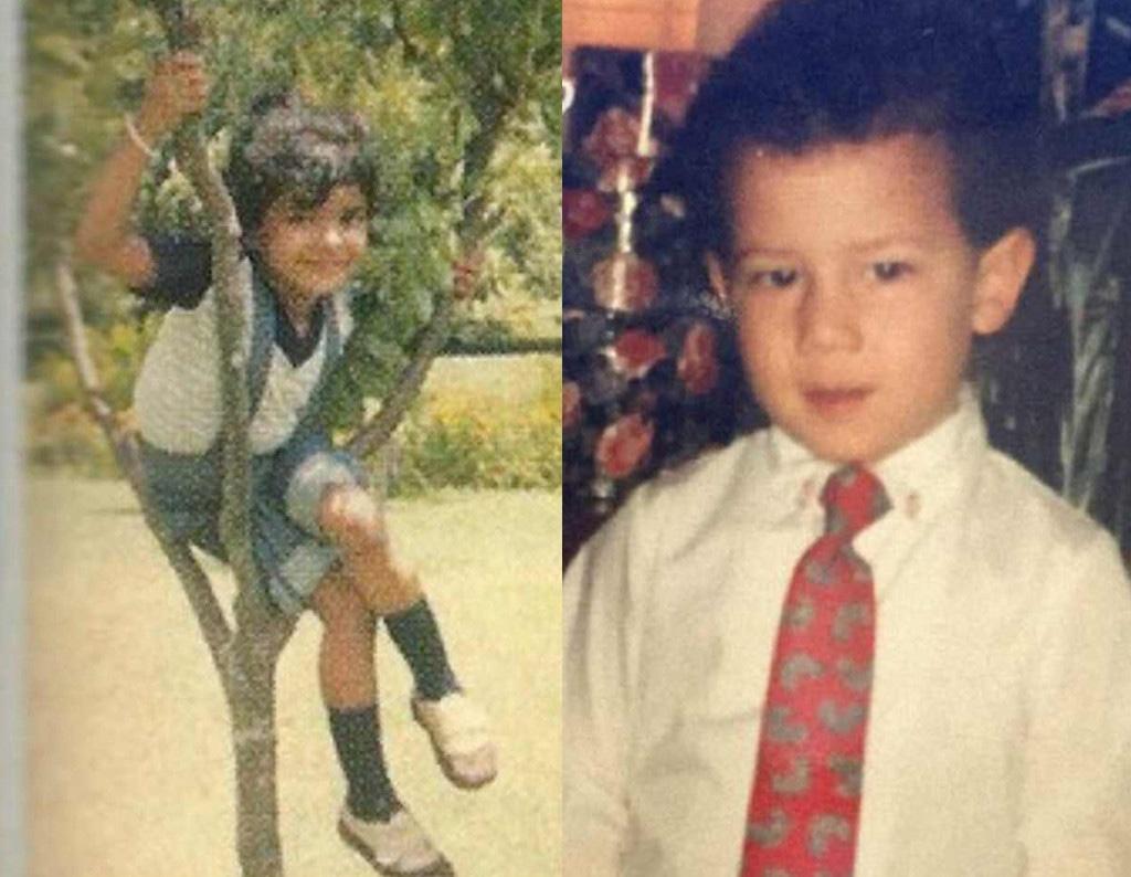 Nick Jonas, Priyanka Chopra, Childhood Photos