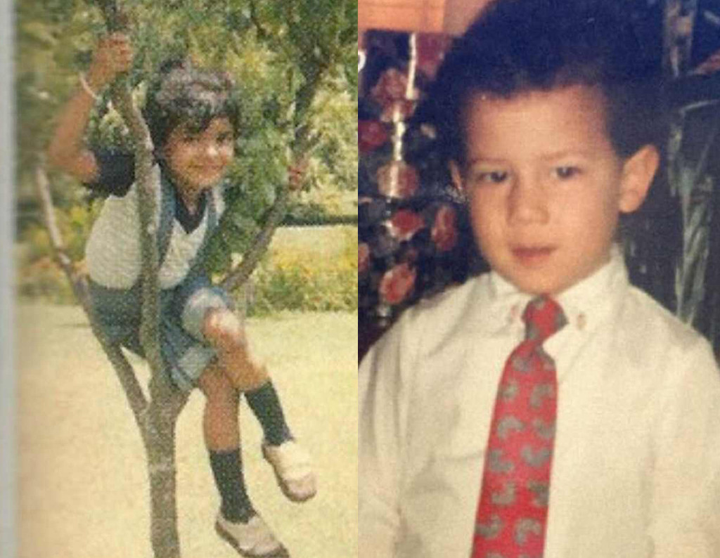 Nick Jonas, Priyanka Chopra, Childhood Photos