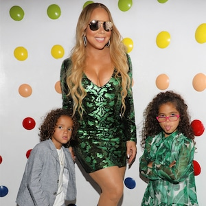 Mariah Carey, Moroccan Scott Cannon, Monroe Cannon, Kids