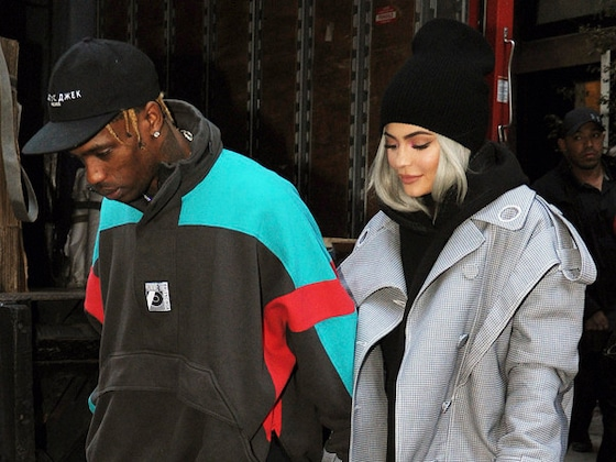 Inside Kylie Jenner and Travis Scott's Family Dinner Date With Baby Stormi