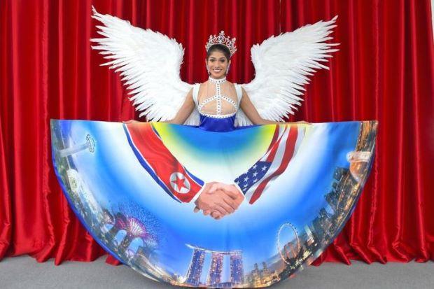 Miss Singapur, Miss Universo