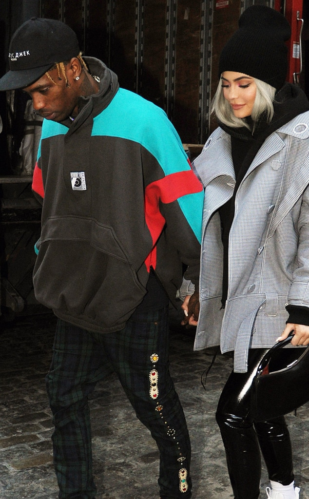 Kylie dating travis