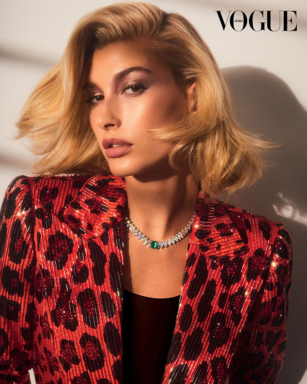 Hailey Baldwin, Vogue Arabia, December 2018
