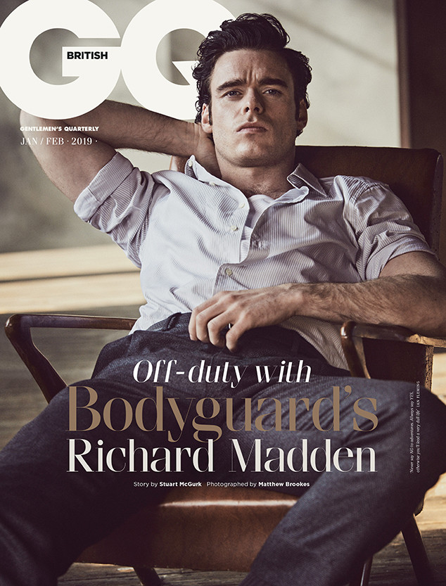 Richard Madden, British GQ, January/February 2019 Issue