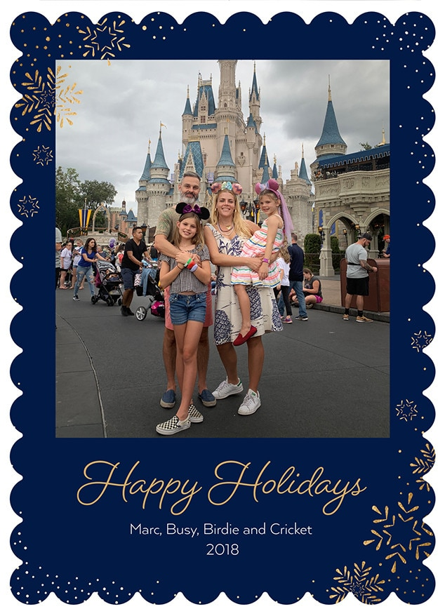 Busy Philipps, Christmas Cards 2018