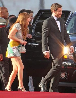 Jake Gyllenhaal, Jenny Lewis, 2011 Golden Globes