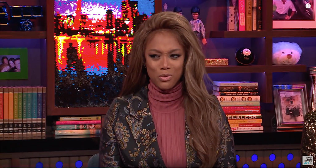 Tyra Banks, Watch What Happens Live