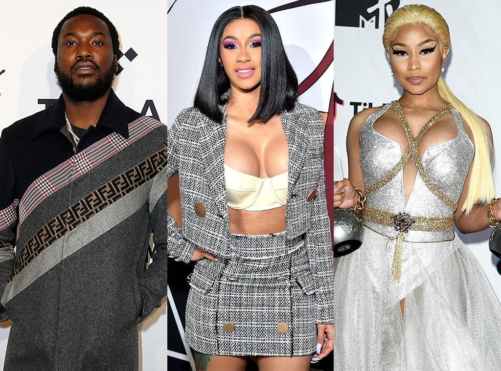 Meek Mill, Cardi B, Nicki Minaj