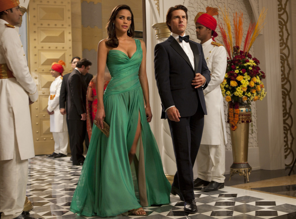 Paula Patton, Tom Cruise, Mission Impossible Ghost Protocol