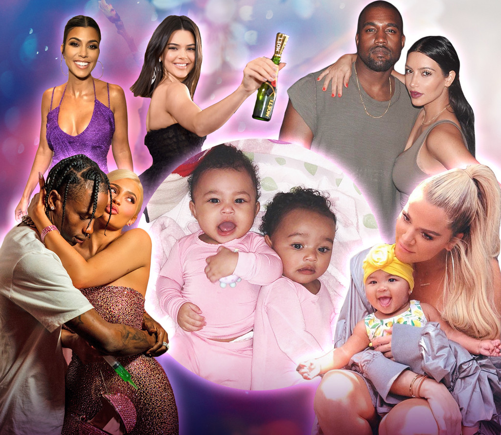 The Year In Kardashians Jenners
