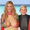 Julia Roberts, Ellen DeGeneres, Dermot Mulroney, Martha Stewart