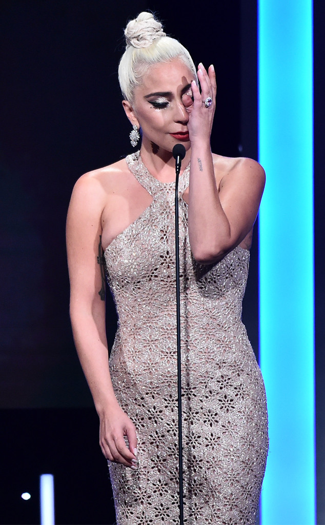 Lady Gaga, Crying