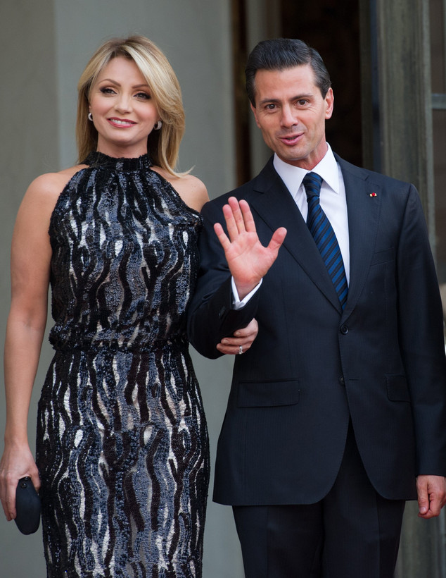 Angelica Rivera, Enrique Peña Nieto