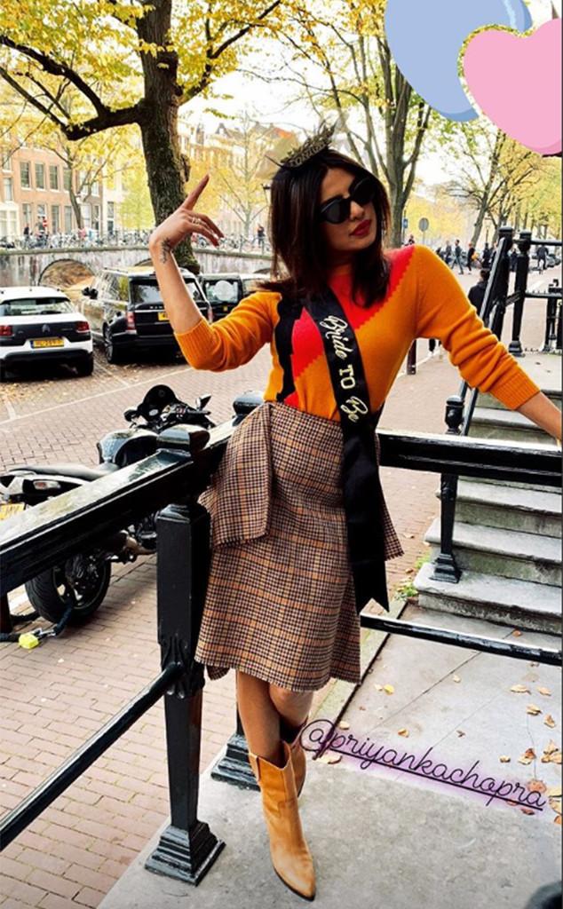 Sophie Turner, Priyanka Chopra, Bachelorette Party Weekend, Instagram