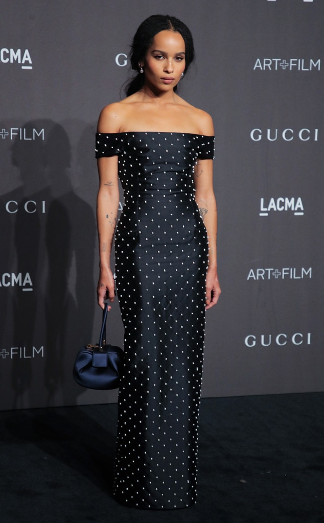 ESC: LACMA: Art and Film Gala, Zoe Kravitz