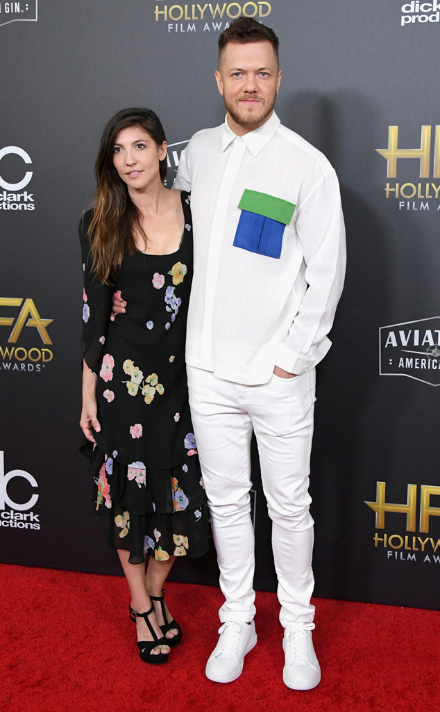 Dan Reynolds, Aja Volkman, 2018 Hollywood Film Awards