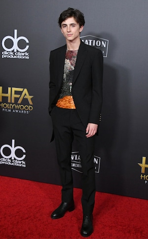Timothee Chalamet, 2018 Hollywood Film Awards