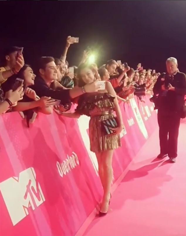 Lindsay Lohan, Fans, 2018 MTV EMAs