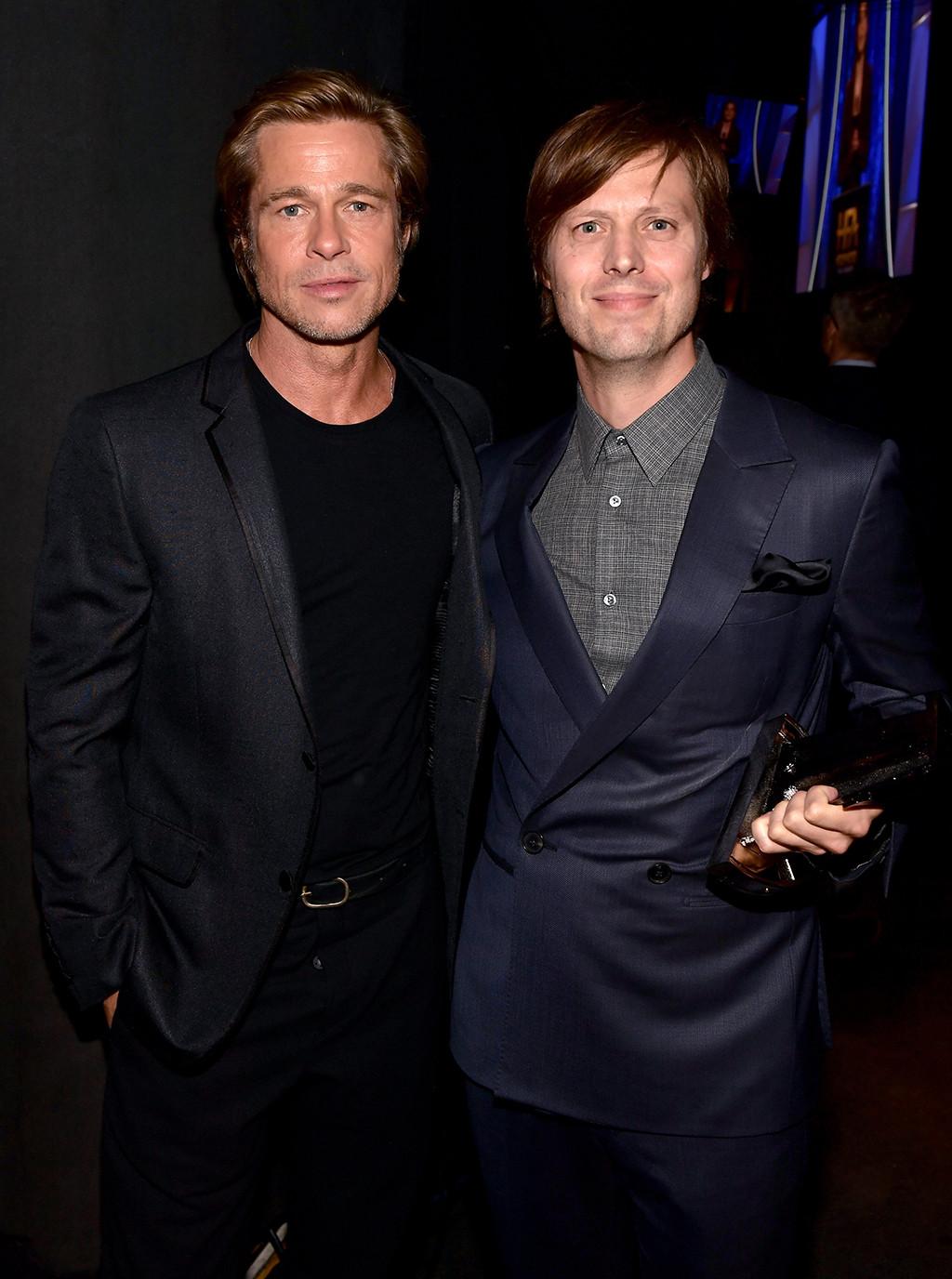 Brad Pitt, Felix Van Groeningen, Hollywood Film Awards