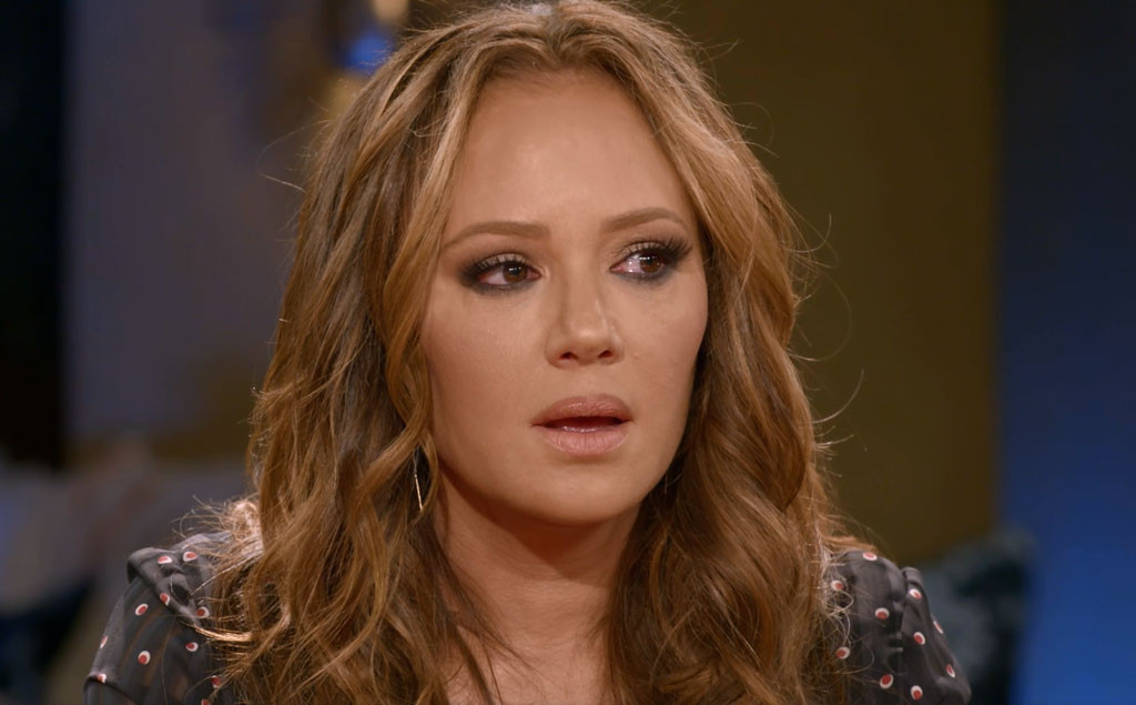 Leah Remini Tears Up While Apologizing To Jada Pinkett