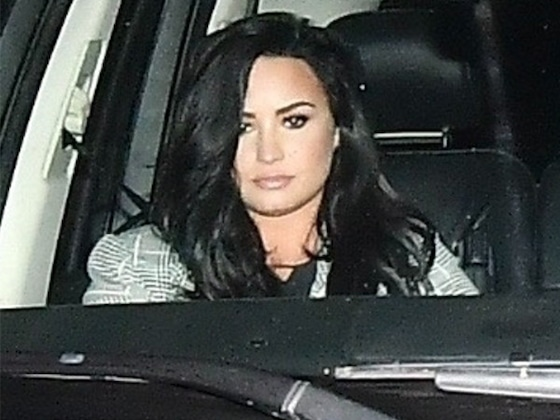 Demi Lovato and Henry Levy Show Some PDA During Nighttime Stroll
