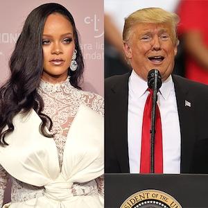 Rihanna, Donald Trump