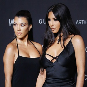 ESC: Kim Kardashian, Kourtney Kardashian