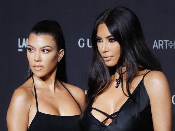 "Kim Kardashian Reveals Where She Stands With Kourtney Kardashian After ""Intense"" Fight"