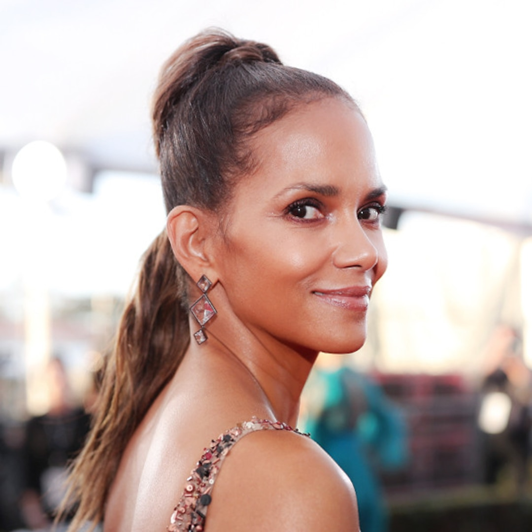 Halle Berry Seemingly Reveals Her Mystery Man's Identity - E! NEWS