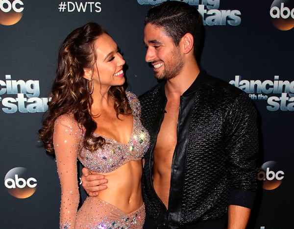 8febf826ea4f4 Here s What s Really Going On Between Dancing With the Stars  Alexis Ren  and Alan Bersten
