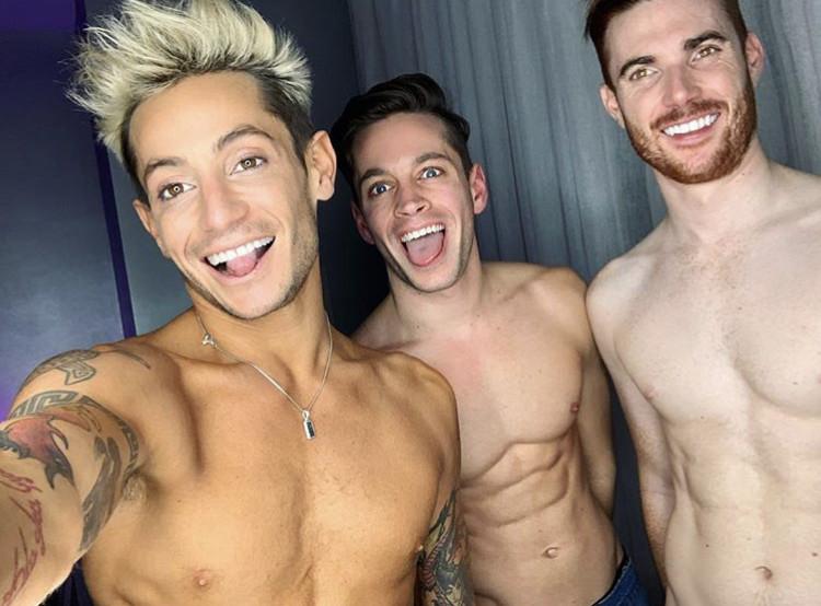 Frankie Grande, Mike Bohl, Daniel Sinasohn
