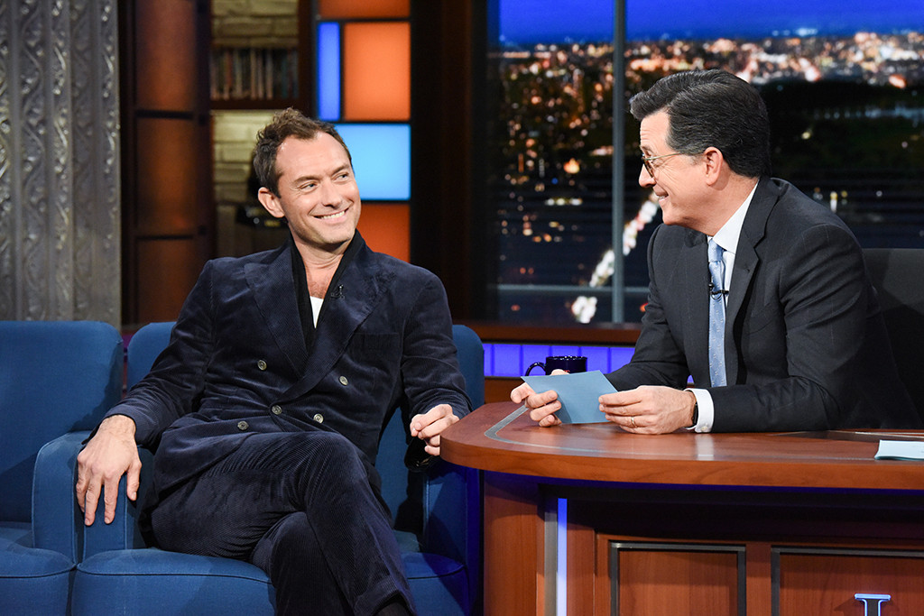 Jude Law, The Late Show With Stephen Colbert